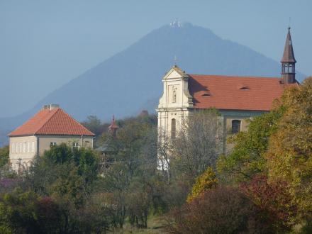 Ubytování a keramická dílna u sv.Petra a Pavla - Sutom a Milešovka s observatoří