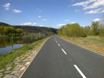 Inline trasa Podolí - Zbraslav
