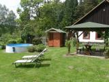 sauna + pergola.