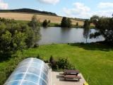 Bazen + rybník